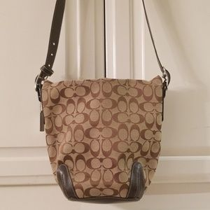 Coach Soho Brown Bucket Bag